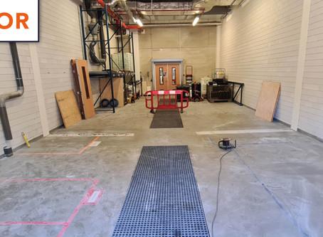 Industriële vloercoating