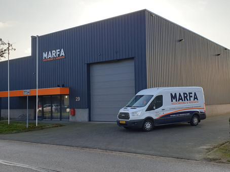 Marfa is verhuisd!