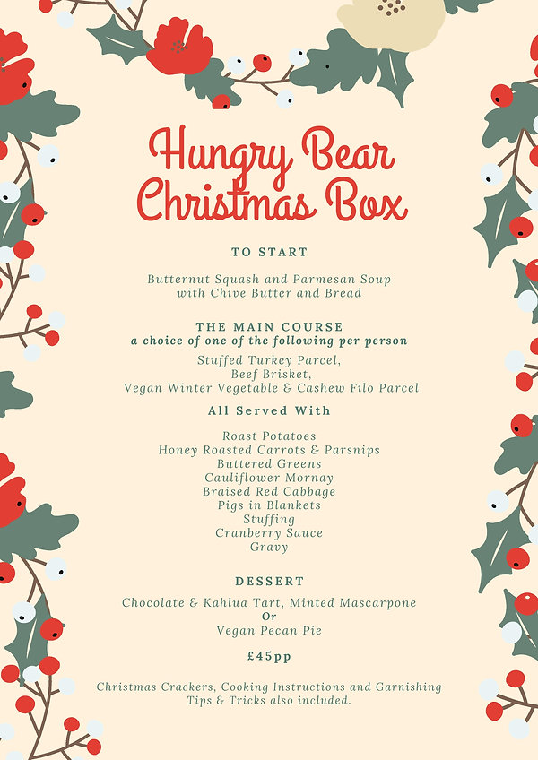 HUNGRY BEAR CHRISTMAS IN A BOX MENU jpg.