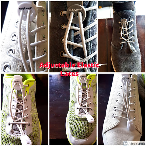 NoTyLaces for all types of shoes, Sports, casual and formal