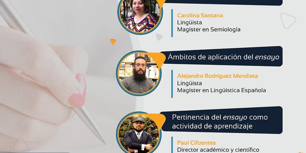 COVERSATORIO SOBRE EL ENSAYO