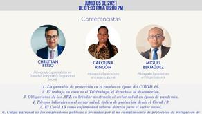 CAPACITACIÓN EN RIESGOS LABORALES EN COLOMBIA - COVID-19