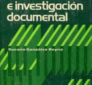 Manual de redacción e investigación documental de Susana González Reyna