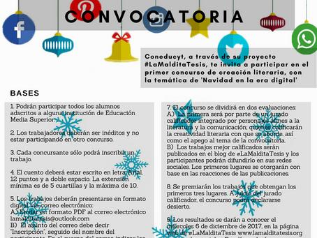 """Convocatoria: """"Un cuento de #Navidad en la era digital"""""""