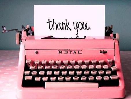 ¿Qué debo escribir en los agradecimientos de mi Tesis?