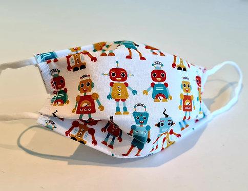 Masque tissu lavable à usage non sanitaire cat1 Robot