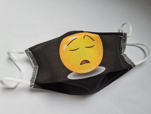 Masque tissu lavable à usage non sanitaire cat1 Smiley4