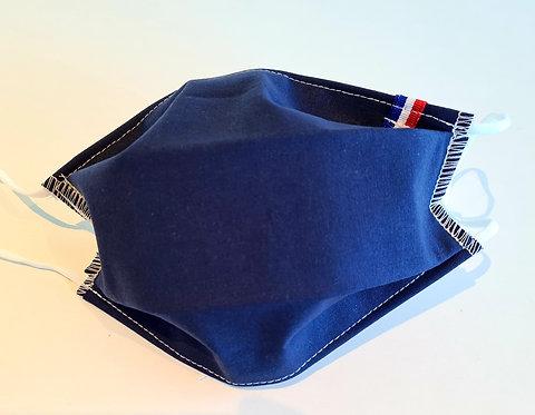 Masque tissu lavable à usage non sanitaire cat1 Marine