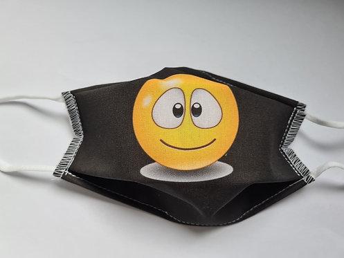 Masque tissu lavable à usage non sanitaire cat1 Smiley3
