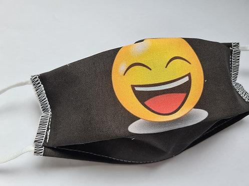 Masque tissu lavable à usage non sanitaire cat1 Smiley5