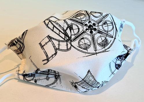 Masque tissu lavable à usage non sanitaire cat1 Photo