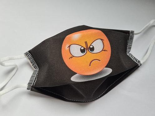 Masque tissu lavable à usage non sanitaire cat1 Smiley7
