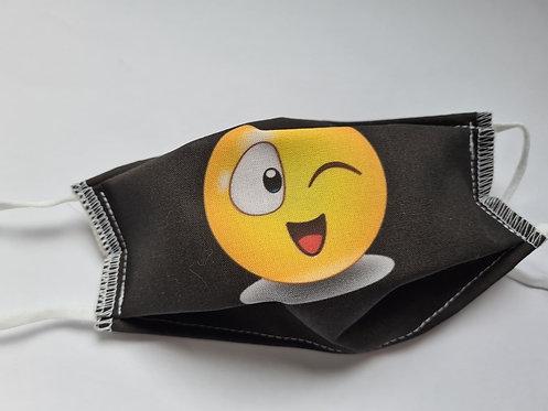 Masque tissu lavable à usage non sanitaire cat1 Smiley6