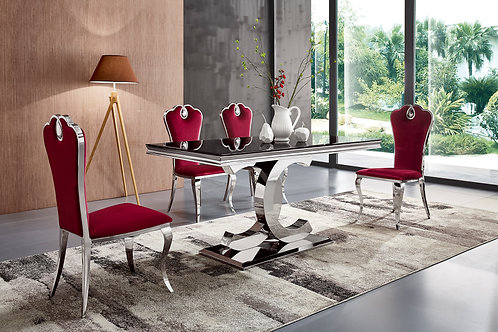 Bailey Table and 6 Chairs