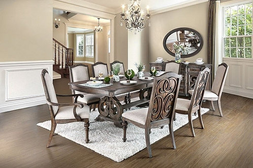 Burberry Dining Table with 6 chairs.