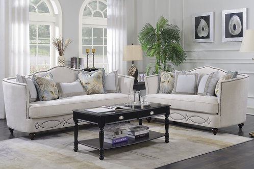 Comfortland Feather filled Sofa and Love seat