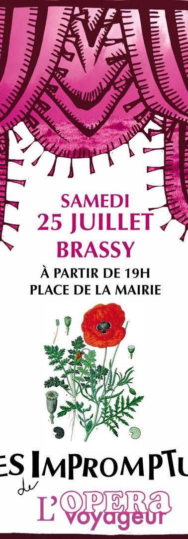 Impromptu au village - Brassy, 25 juille