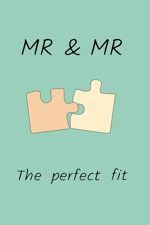 Mr & Mr Wedding Puzzle