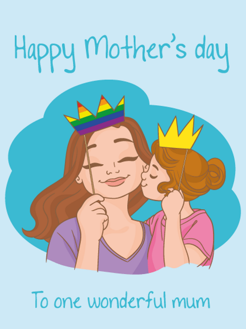 One Wonderful Mum Card