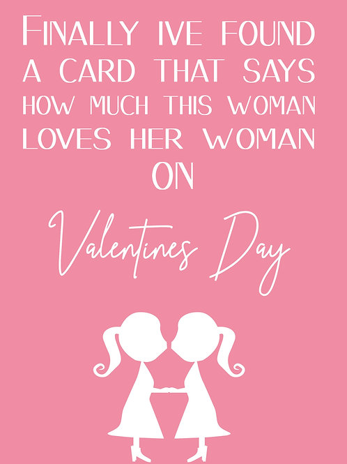 She Loves Her Woman Card