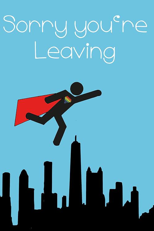 LGBT Leaving Superman Card