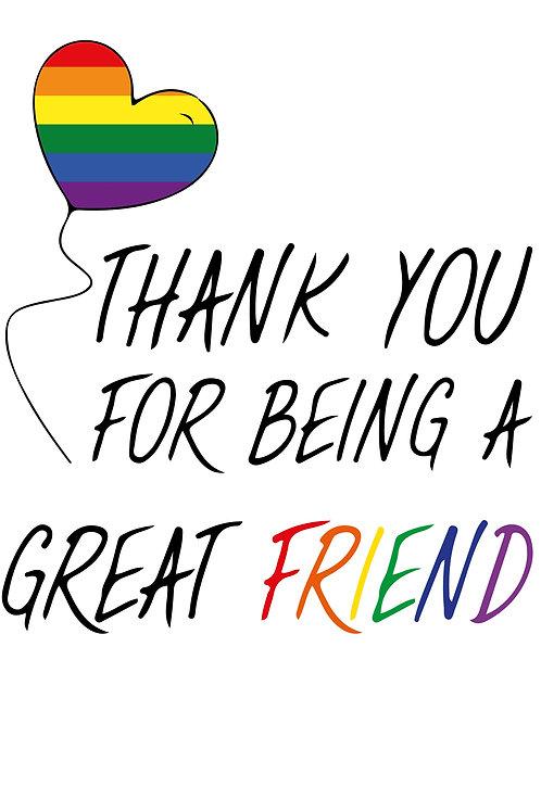 Great Friend Card