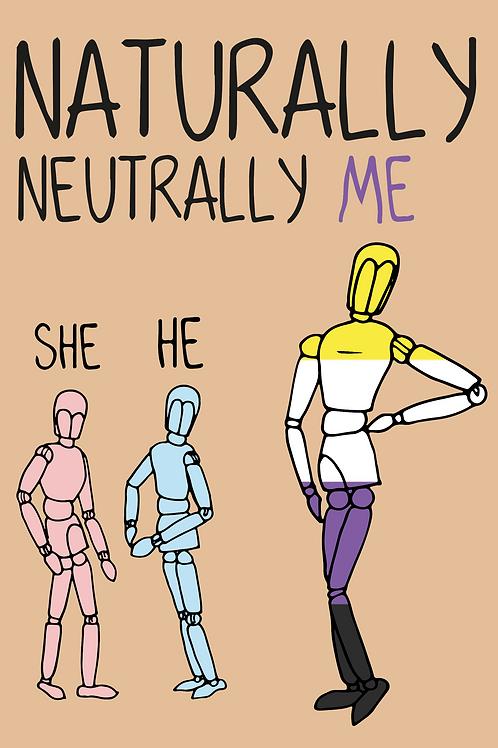 Naturally Me Card