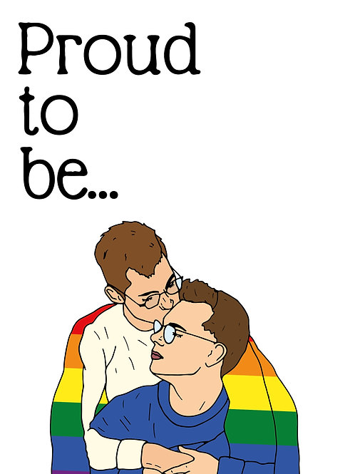 Proud To Be Gay Card