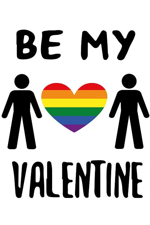 Stick Men Valentine Card