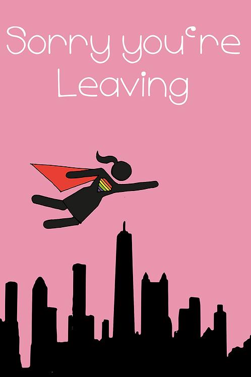 LGBT Superwoman Leaving Card