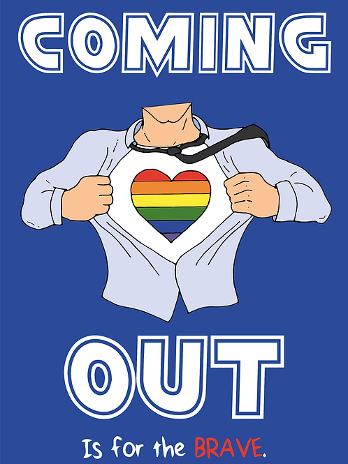 Coming Out Is Brave