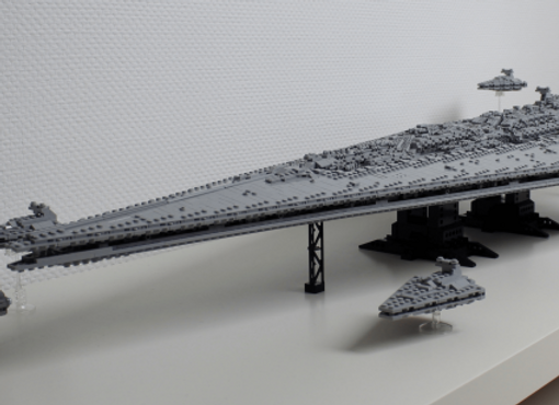 Star wars Executor Imperial Star Destroyer lego model. 3125 pieces!!!