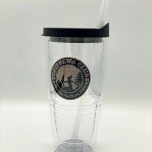 Tervis 24 ox. Tumbler with custom patch insert