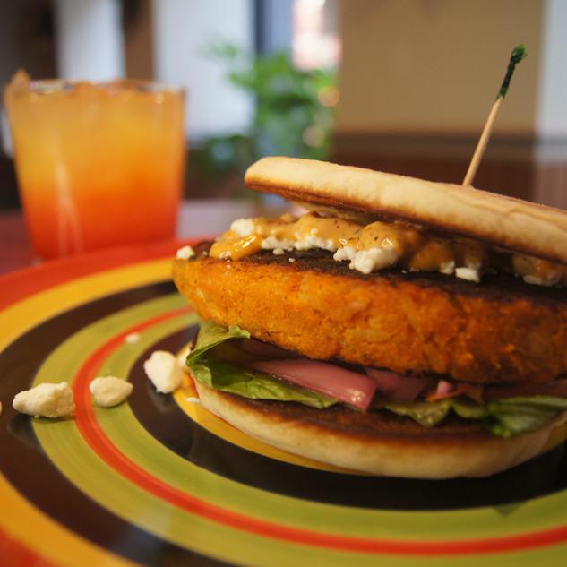 Housemade Sweet Potato Burger
