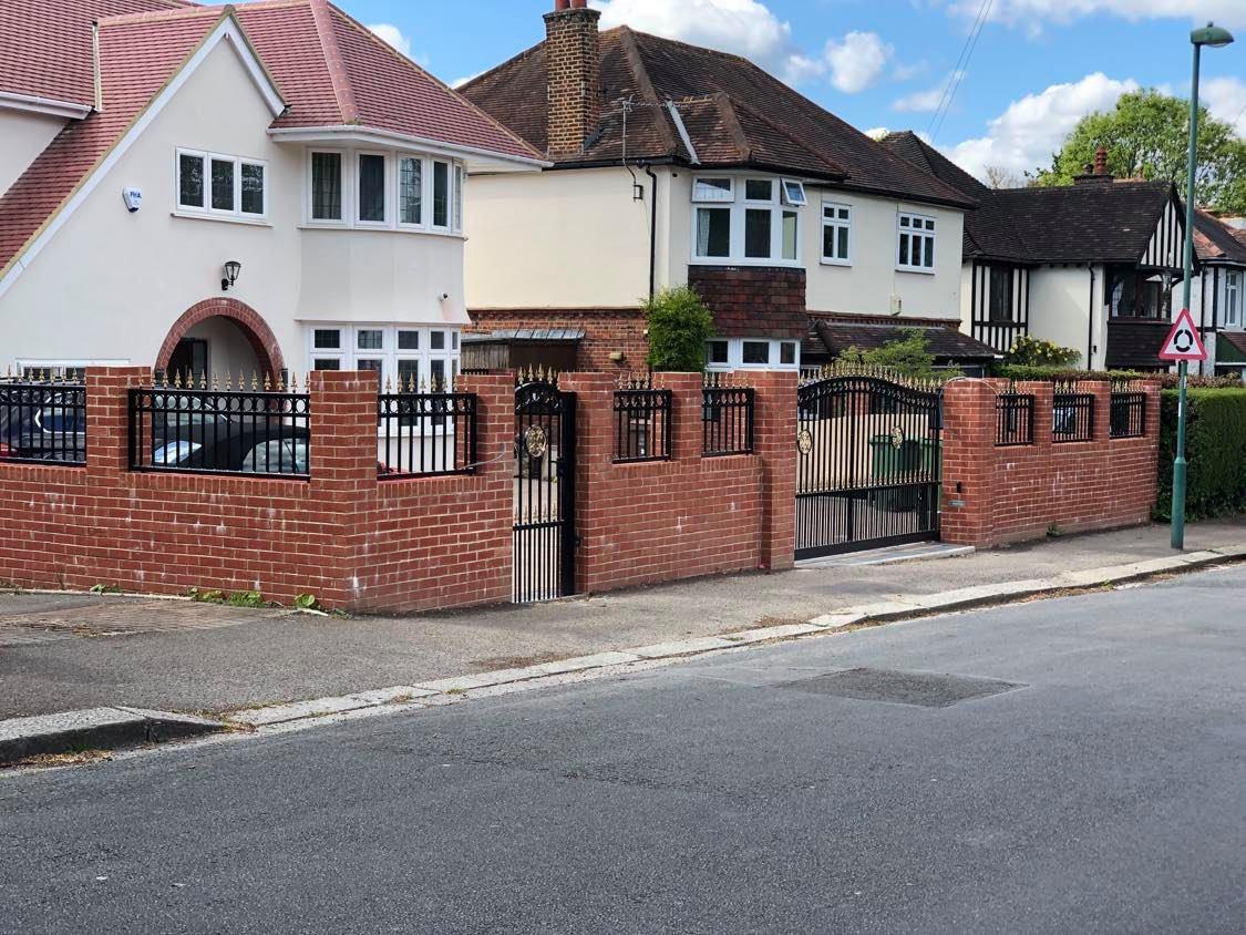 Ornamental Gates and Fence