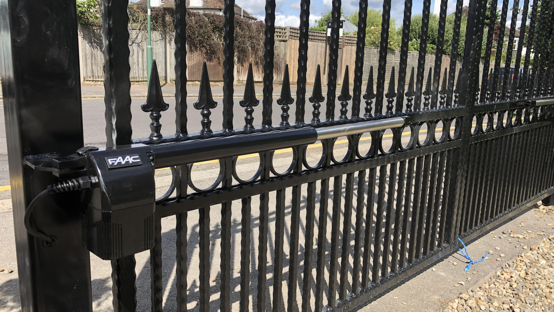 Swing Automated Gate With FAAC Operator