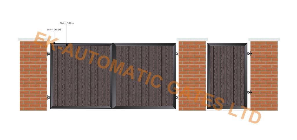 Composite Flat Top Gate 1