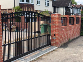 Ornamental Sliding Electric Gate