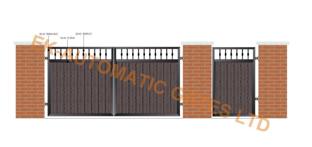 Composite Flat Top Gate 3