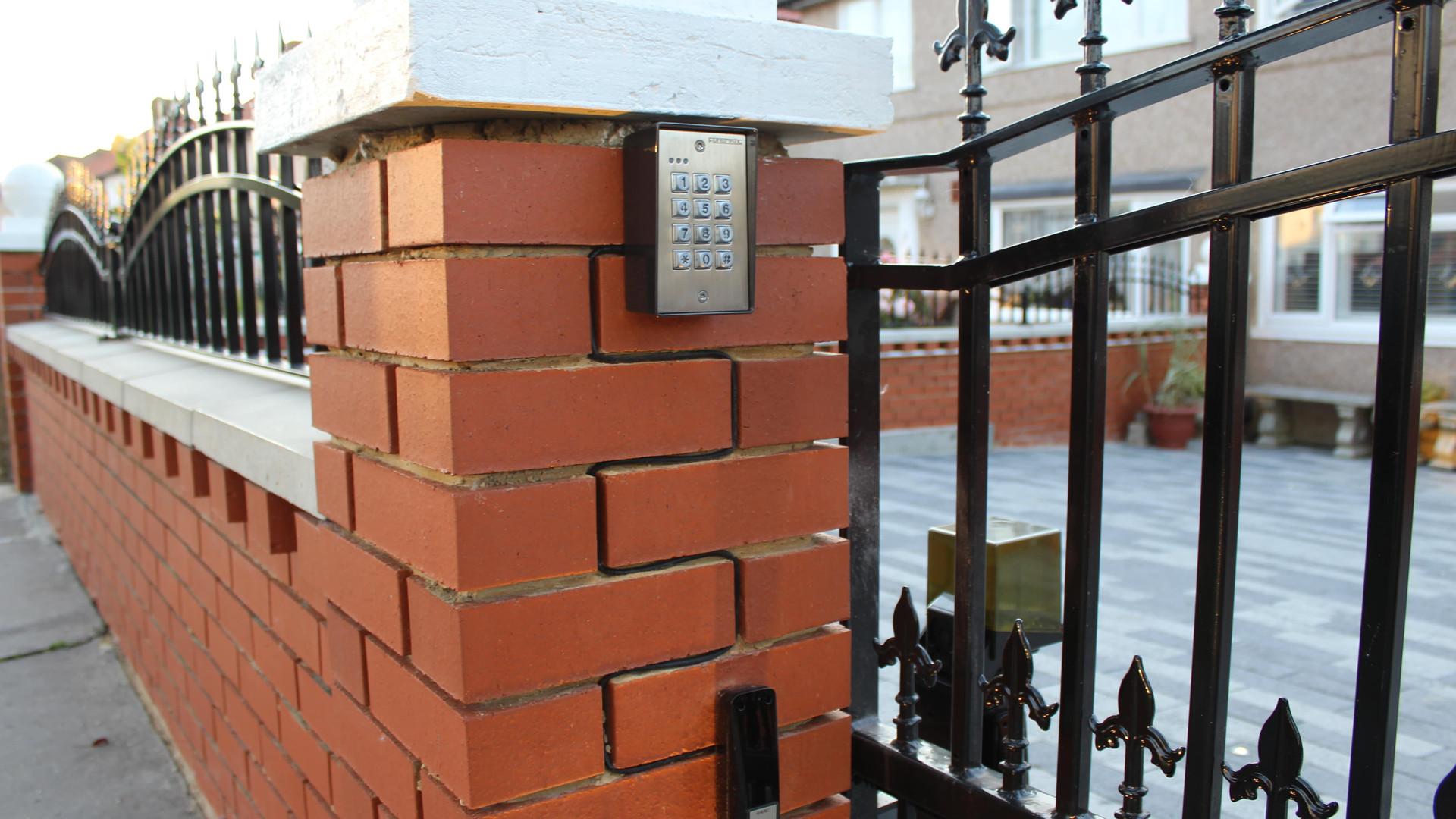 Electric Gate Access controll Keypad
