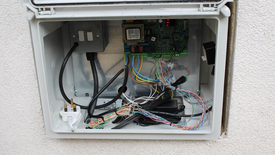 Electric Gate Control Panel