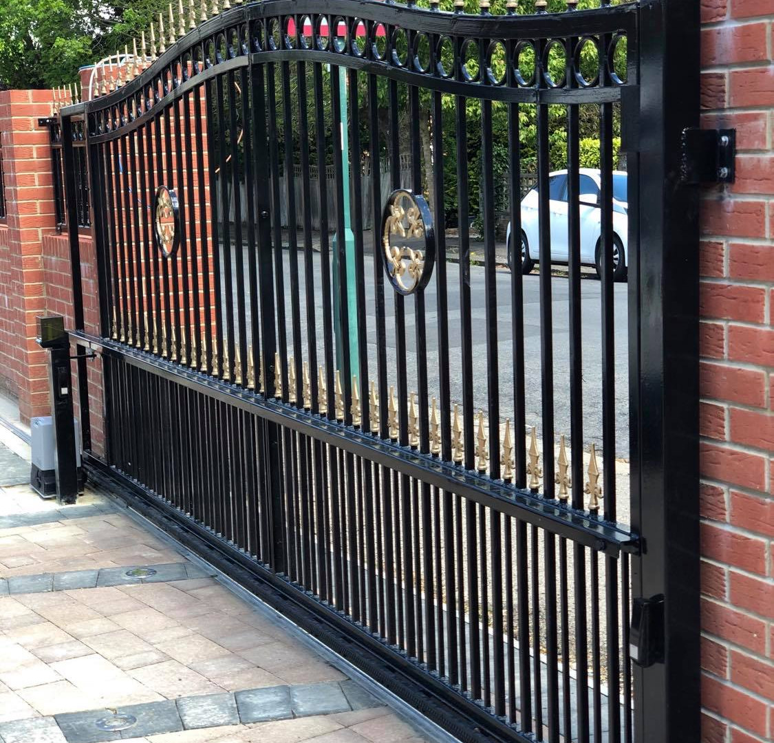 Sliding ornamental Automatic Gate
