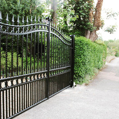 Swing Double Leaf Electric Gate