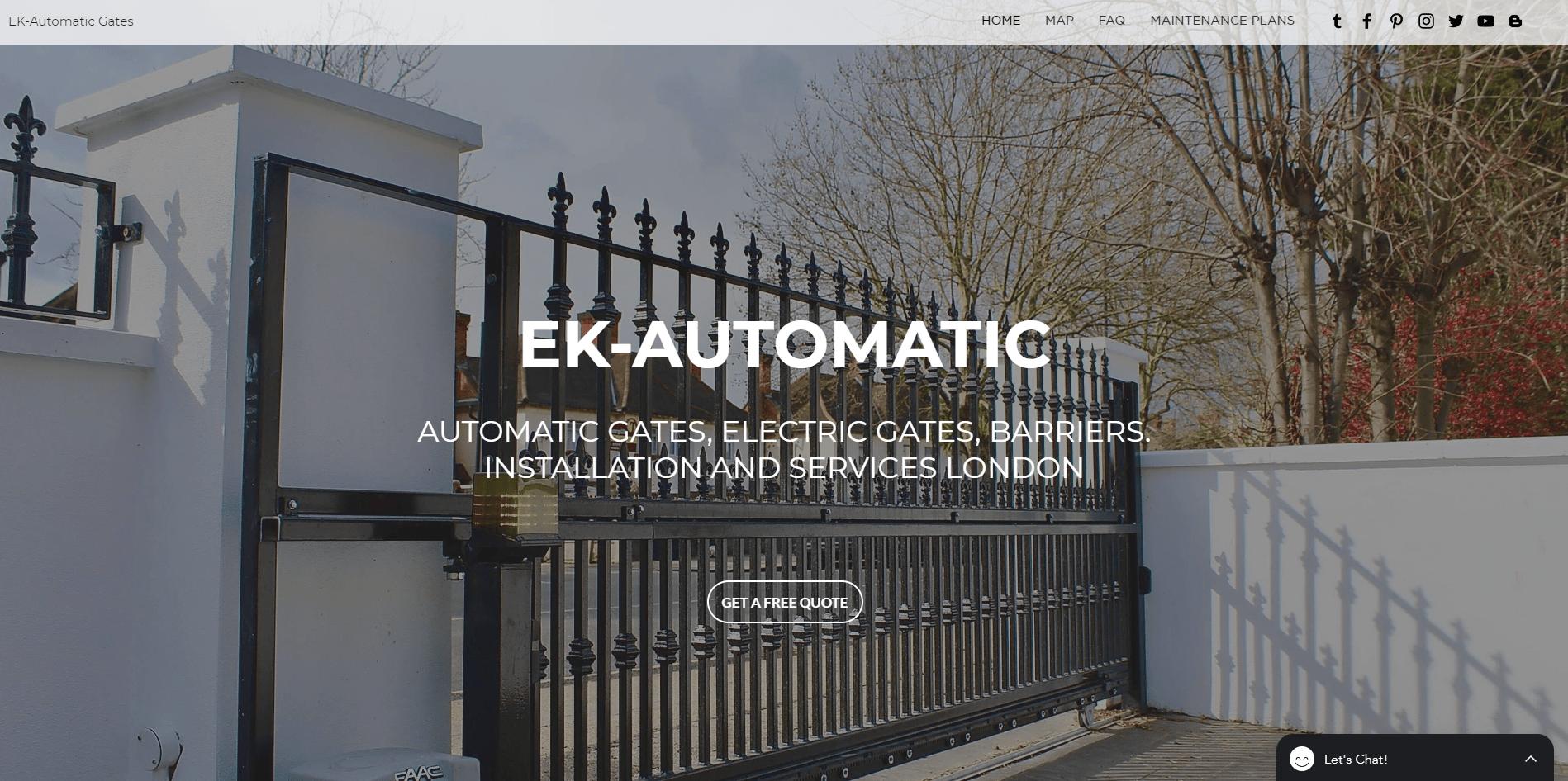 Stunning Website design