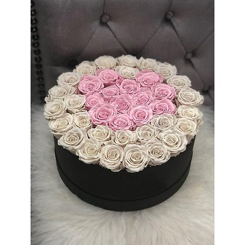 Rose stabilizzate due colori | Stabilized roses 2 colors | Consegna Gratuita