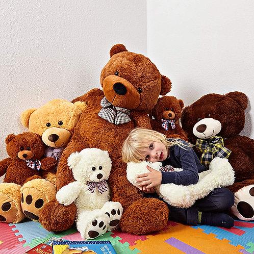 Teddy Orso Marrone 120 cm