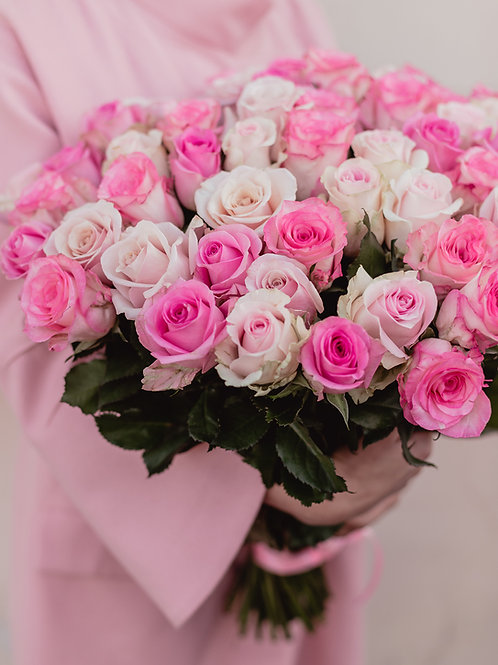 Mazzo Bianco, Rosa | White Pink Bouquet | Rose online