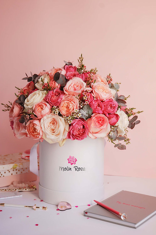 Rose in scatole - Rose mix | Rose Box - Mix Roses