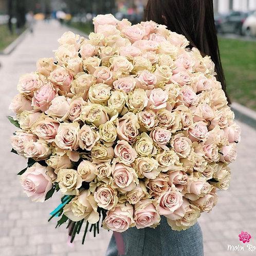 Bouquet di Rose Beige | Beige Roses Bouquet | Fiorista online