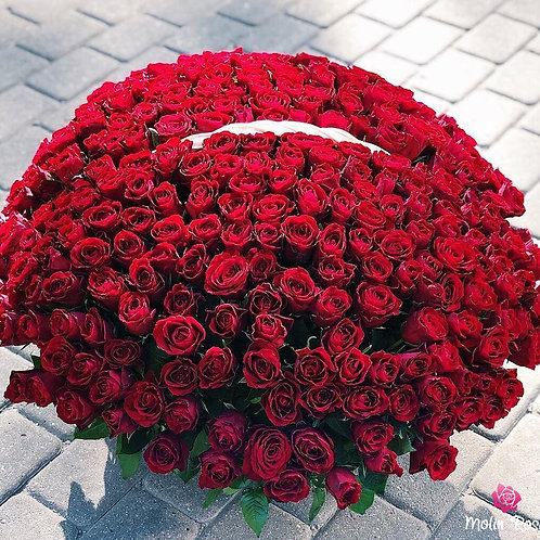 Rosa Red Naomi 200pz. | Rosa Red Naomi 200 pcs. | Luxury Flowers Milan